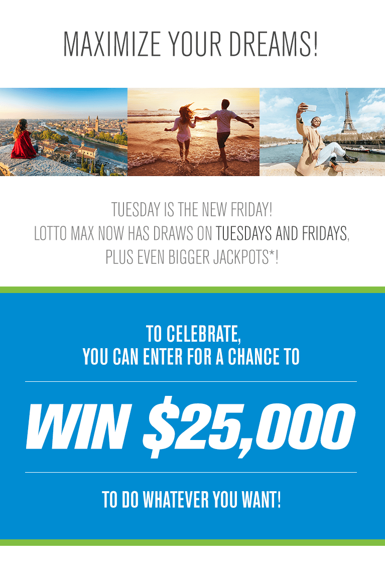 Lotto Max | Corus Entertainment Contest