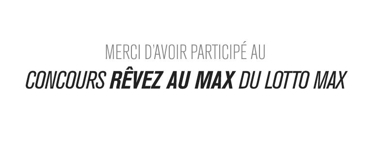 Lotto Max   Concours de Corus Entertainment