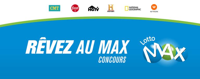 Lotto Max | Concours de Corus Entertainment